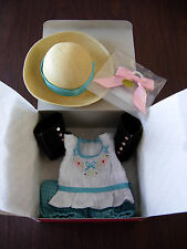 American Girl Samantha's Bicycling Outfit  ~NIB~ Beforever Complete Hat, Boots