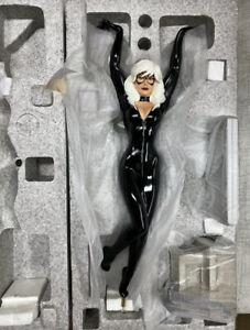 Sideshow Marvel Spider-Man Black Cat Statue Comiquette By Adam Hughes