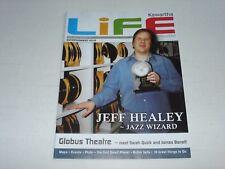 JEFF HEALEY on the cover of KAWARTHA LIFE magazine June 2007 rare