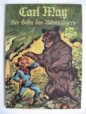 """Quäker Sammelbilderalbum """"Der Sohn des Bärenjägers"""", Karl May, 1965, komplett"""