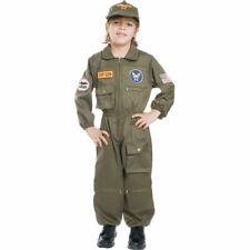 AIR FORCE PILOT TOP GUN FIGHTER CHILD HALLOWEEN COSTUME BOYS SIZE MEDIUM 8-10