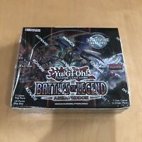 Booster Box, EU Print - 1st Ed - Battles of Legend Armageddon (BLAR) - Yugioh