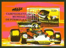 BRAZIL SC# 1247-Emerson Fitipaldi, Brazilian World Racing Champion-RHM B-33 FDC