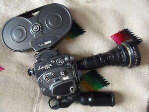 VINTAGE Beaulieu R-16 16MM Movie Camera-WORKING-NO POWER CORD-VG