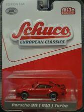 Turbo rojo escala 1:64 maqueta de coche nuevo ° Schuco 452018900 Porsche 911 930