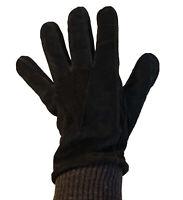 Goodfellow & Co Men's Black Tech Touch Suede Winter Gloves Size M