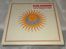 King Crimson Larks' Tongues In Aspic Sealed Vinyl Record Lp USA 1983 Hype Stick