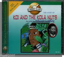 Whoopi Goldberg Reads Koi & The Kola Nuts - New Rabbit Ears Children's CD!