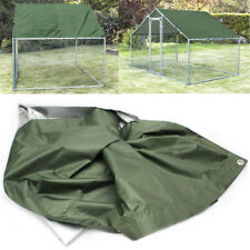 Outdoor Waterproof Chicken Run Roof Rabbits Coop Covers Bike Motor Rain UV Cover