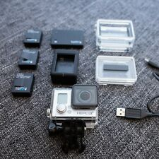 New listing GoPro Hero 3+ plus Black Edition remote 2 extra Oem batteries + batteryBacPac