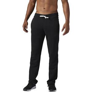 "34"" 36"" 38"" LEG EXTRA LONG BLACK Jogging Joggers Gym Bottoms Mens Big & Tall"