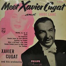 """MEET XAVIER CUGAT AND ABBE LANE 10""""  LP (P735)"""