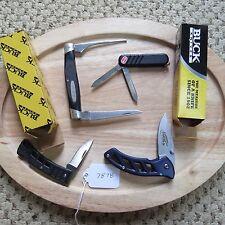Buck knife 425,321,316, Wenger Buck knives