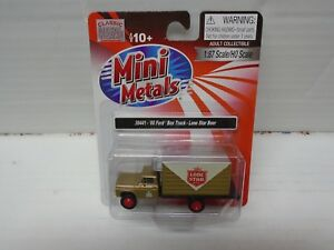 Ho Scale Classic Metal Works 30441- '60 Ford Box Truck Lone Star Beer