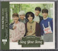 SHINee: Sing your song  (2015) CD & PHOTO CARD TAIWAN