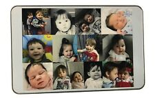 Personalised RECTANGLE tin add photograph, logo, child's drawing add sweets etc