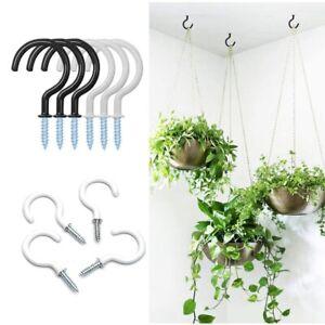 Heavy Duty Screw-In Holder Ceiling Hooks Wall-Mounted Mug Hanger Cup Hooks