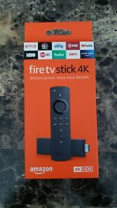 Amazon Fire Stick 4K Streaming Device with Alexa Voice Remote  BRAND NEW