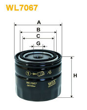WIX WL7067 Car Oil Filter - Spin-On Replaces W92021 PH2809 AW139