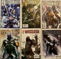 Annihilation set:#1-6+saga prologue 6.0 FN (2006)