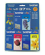 Inkjet Cartridge for DCP150C/MFC235/MFC260C cyan, magenta, yellow ink Brother