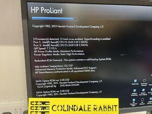 HP Proliant ML350p GEN8 Xeon dual E5-2630 Tower Server 300GB 1.5tb 32GB ram