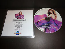 TAYLOR SWIFT Speak Now RADIO SAMPLER Universal Music Brazil RARE 2011 PROMO CD