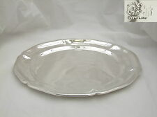 SUPERBE Mexican Sterling Silver Serving Plaque C 1950 18.6 OZ (environ 527.29 g)