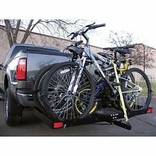 Cargo Carrier 4 Bike Rack 500lbs Capacity Tow Hitch Connection Foldable Cradles