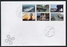 Norway 2006 Fdc Tourism Self-Adhesive Booklet Stamps