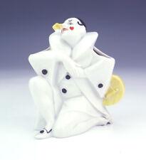 Antique William Goebel Porcelaine-Pierrot Clown Brosse à dents Holder-art déco!