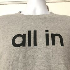 Adidas Mens Gray All In Long Sleeve Shirt Sz Medium Crew Neck