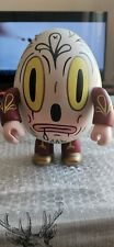 Gary Baseman: 8-Inch Egg Qee white some marks- Rare CollEctable
