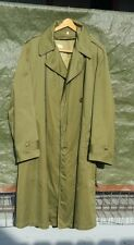 1953 Korea Era US ARMY Cotton Overcoat O.G.107 w/removable Wool Liner Reg. Med