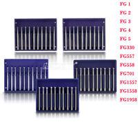 12 Type Dental Tungsten Carbide Bur FG Round for High Speed Handpiece