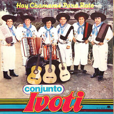 CONJUNTO IVOTI Hay Chamamé Para Rato Argentina Press Microfon 60347 1986 LP