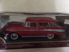1:18 Yatming Yat Ming Road Legends Red Chevrolet 1957 Nomad Item 92088