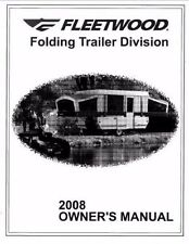 FLEETWOOD Trailer Owners Manual-2008 Destiny Westlake Sea Pine Yuma Sedona Taos