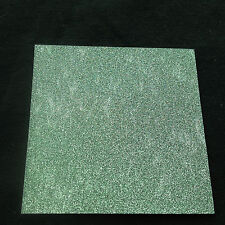 p211 Origami Folding Paper - Sand Shinny Glitter 7.0cm 20sheets - Green