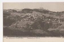 Switzerland, Appenzellerbilder, Trogen mit Santis Postcard, B231