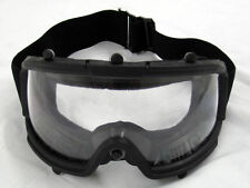 Airsoft Paintball Protective Tactical Safety Goggles Glasses Mask Black 2605B