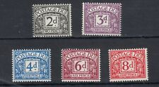 GB QEII 1968 Postage Dues Collection SGD69/76 MNH JK159