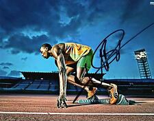 USAIN BOLT REPRINT AUTOGRAPHED SIGNED PICTURE PHOTO OLYMPICS JAMAICA JAMAICAN