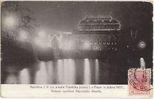 FESTA PER LA VISITA DI FRANCESO GIUSEPPE D'AUSTRIA A PRAGA (REPUBBLICA CECA)1907
