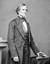 Civil War Confederate President Jefferson Davis Black & White 8x10 Picture Celeb
