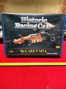 HELLER HISTORIC RACING CAR Mc LARRN M7 A Scala 1:24 VINTAGE NEW!!!