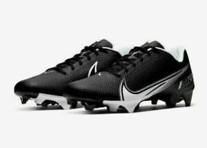 Nike Vapor Edge Speed 360 Football Cleats Men Size 9 CD0082-001 Black / White