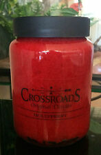 CrossRoads 26oz Jar Candle - Hollyberry - Burns Hours 120-140