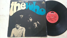 The WHO Best of * MEGARARE New Zealand POLYDOR 1st Press 60s VINILE LP *