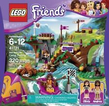 Lego Friends Adventure Camp Rafting 41121 Set Retired New Sealed Olivia Andrea